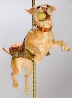 Tim Racer, why do you play with my heart?  Omg I want a custom carousel dog SO badly.  What do normal girls want?  Birkin bags?