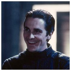 Christian Bale off camera in Equilibrium