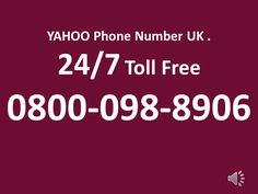 TOLLFREE O8OO_O98_89O6 For Yahoo-Phone-Number-UK,Yahoo-Technical-Support-Number-UK,Yahoo Help Number | CrunchBase