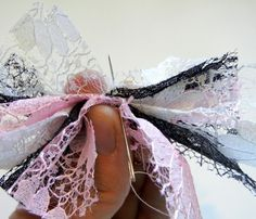 """Bows! Lotsa bows. """"The bigger the bow, the better the momma."""" :)"""