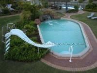 Pool Slides For Your Above Ground Portable Pools Above Ground