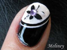▅ ▆ ▇ █ Nail Art Supplies http://www.meliney.com  █ ▇ ▆ ▅ ▄  ►Playlist - Animal & Character Nail Design Collection  http://www.youtube.com/playlist?list=PLF5B63C574DD478C4    Next Week's Video: http://youtu.be/ZAg0oMZ8NII (Spanish Lace Heart)  Last Week's Video: http://youtu.be/X9qan3WGWQ8 (Hello Patriotic Kitty)    FACEBOOK www.Facebook.com/MelineyDes...
