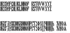 Преглед на шрифта DSCyrillic