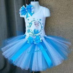 Frozen First Birthday, Frozen Birthday Outfit, Frozen Themed Birthday Party, Birthday Tutu, Frozen Party, Princess Birthday, Tutu Frozen, Diy Birthday Decorations, Tutu Outfits