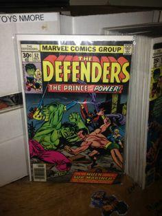THE DEFENDERS #52 HULK vs SUB-MARINER MARVEL COMICS