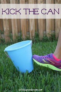 Outdoor Games for Kids: Kick the Can!