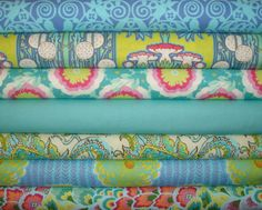 Soul Blossoms / Amy Butler Fabric / 7 Half Yard  Bundle / by mimis, $32.99