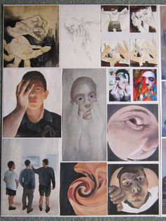 Level 3 Alex Winiata Board 1 A Level Art, Level 3, Arts Ed, Ap Art, Art Portfolio, Drawing Tips, Art Boards, Art Lessons, Printmaking