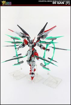 GUNDAM GUY: MG 1/100 00 Qan[T] Tekkeman - Custom Build [Part 1]