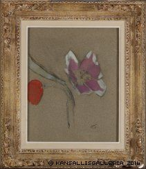 Anemone by Helene Schjerfbeck, ca. Flower Shape, Flower Art, Helene Schjerfbeck, Green Vase, Blue Green, Garden Painting, Types Of Flowers, Teaching Art, Art Gallery