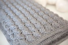 Cozy and Free Baby Blanket Crochet Pattern works up quick.Make it in multiple sizes.Enlarge the pattern to make it into an afghan for all the family to enjoy.