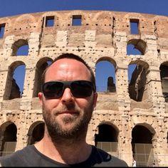 Sully in Roma on June 26,2017 #sullivanstapleton #colosseo