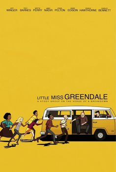 """Little Miss Sunshine""   The 101 Best Pieces Of ""Community"" FanArt"
