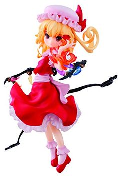 Aquamarine Touhou Project Flandre Scarlet PVC Figure >>> Check this awesome product by going to the link at the image.