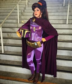 Pin for Later: Star Wars and Disney Hybrids Are the Coolest Cosplay Trend in the Galaxy Mandalorian Megara