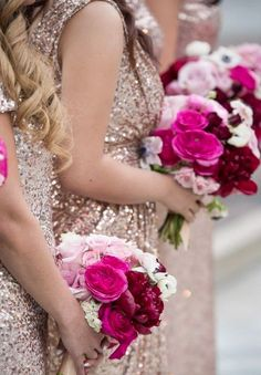 72a3e4f47 34 Best Shades of Pink and Peach Bouquets images