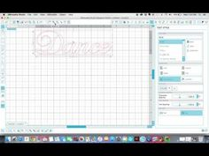 How To Make Any Font a Stencil with Silhouette CAMEO - YouTube
