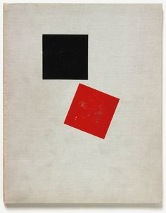 El Lissitzky. Pro dva kvadrata. Suprematicheskii skaz v 6-ti postroikakh (Of Two Squares: A Suprematist Tale in Six Constructions), 1922. Abstract geometrical art