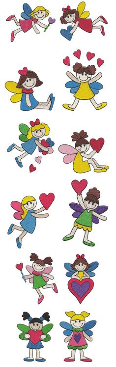 Embroidery | Free Maching Embroidery Designs | I Heart Fairies