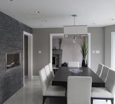 Contemporary Dining Room Modern Sets Grey Furniture Dinning