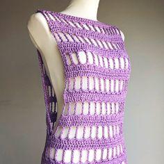T-shirt Au Crochet, Pull Crochet, Gilet Crochet, Crochet Shrug Pattern, Crochet Tunic, Crochet Clothes, Crochet Shrugs, Crochet Sweaters, Modern Crochet Patterns