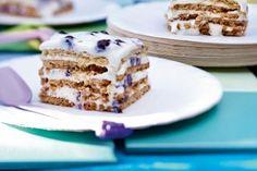 Das Rezept für Blueberry-Squares und weitere kostenlose Rezepte auf LECKER.de