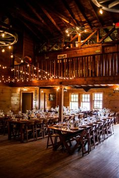 Rustic ceremony space   Photo by Bethany & Dan Photography