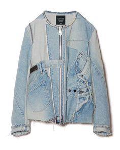 KUROの2016年春夏デニムコレクションよりジャケットやコートなどトップスアイテムの紹介の写真4                                                                                                                                                                                 もっと見る