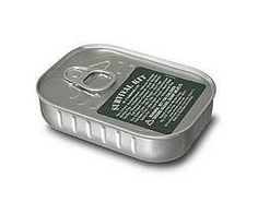 Survival kit in a sardine can. Can't top that-- well, I guess 61 other gadgets did, but I still think it's the shit. Emergency Preparedness, Survival Gear, Survival Gadgets, First Aid Supplies, Chewing Gum, Note Paper, Duct Tape, Just In Case, Best Gifts