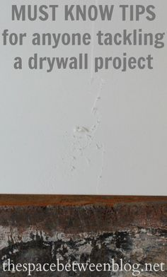 a great resource for anyone preparing to take on a drywall project