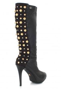Carmen Steffens studded boots