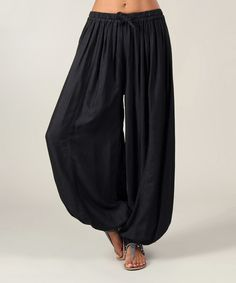 Another great find on #zulily! Aller Simplement Black Harem Pants by Aller Simplement #zulilyfinds