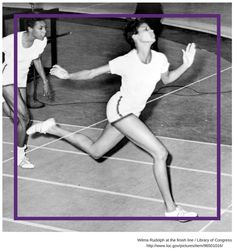 Fitness Inspiration: Born in Wilma Rudolph overcame great obstacles during her childhood to become a world class track and field athlete. She won three gold medals in the 1960 Olympic Games and became the first black woman to achieve such Olympic success. Wilma Rudolph, Women In History, Black History, Tennessee, American Athletes, Olympic Champion, African American History, Track And Field, Olympians