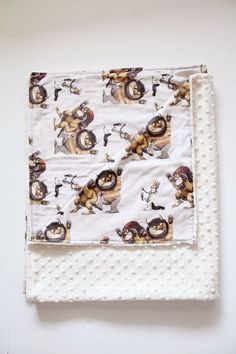 Where the Wild Things Are Minky Blanket Woodland or by LoonaLou