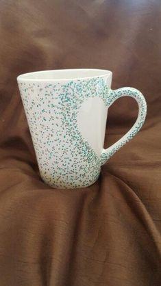 Handpainted mugs Handpainted mugs Painted Coffee Mugs, Hand Painted Mugs, Painted Pots, Hand Painted Ceramics, Painted Pottery, Pottery Painting Designs, Pottery Designs, Mug Designs, Dot Painting