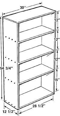 How to build a bookcase step by step woodworking plans for Build your own bookshelves plans
