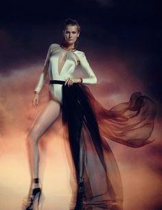 Toni Garrn by Warren du Preez & Nick Thornton Jones for Numéro Russia February 2015
