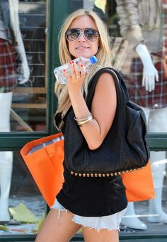 kristin cavallari - I really want her Alexander Wang bag