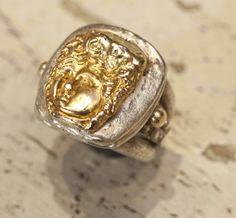 Gold and silver design #jewlery #rings #gioielli #giuseppinafermi #accesories #madeinitaly