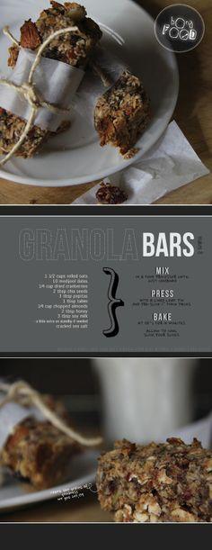 bona food: Granola Bars
