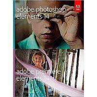 Adobe Photoshop Elements & Premiere Elements 14 (PC/Mac Software) $74.99 + Free Shipping $74.98