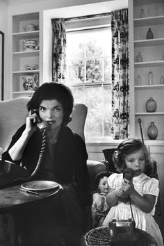A look back at legendary photographer Alfred Eisenstaedt's 21 most iconic photos: Jackie Kennedy and Caroline Kennedy