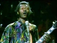"""February 3, 1972: Chuck Berry records an 11 minute version of the song My Ding-a-ling  during the Lanchester Arts Festival at the Locarno Ballroom in Coventry, England. Boston radio station WMEX disc jockey, Jim Connors """"discovers"""" the recording, and eventually earns a gold record for helping to push it to number 1 on the pop charts."""