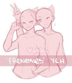 Frenemies YCH (CLOSED) by bakaqeyama.deviantart.com on @DeviantArt