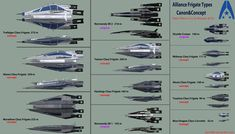 Systems Alliance Frigate Types Original vs Concept by on DeviantArt Space Ship Concept Art, Concept Ships, Game Concept Art, Stargate, Halo Ships, Mass Effect Ships, Mass Effect Universe, Commander Shepard, Future Weapons