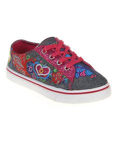 Look at this Jelly Beans Fuchsia Play Sneaker on #zulily today!