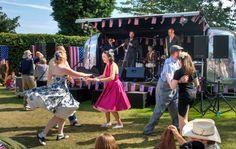 Swing dance at Goodwood Revival 2012