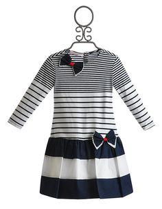 Biscotti Shes Got Stripes Girls Dress $74.00