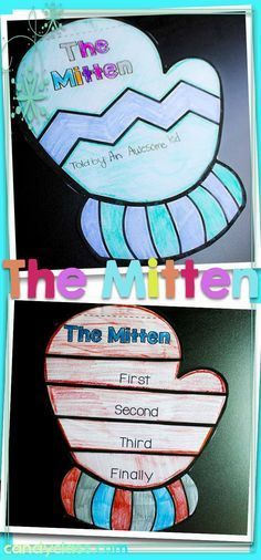 Winter Writing Craftivity for The Mitten by Jan Brett Reading Response Activities, Teaching Activities, Winter Activities, Teaching Reading, Teaching Ideas, Classroom Activities, Reading Comprehension, 2nd Grade Reading, Author Studies