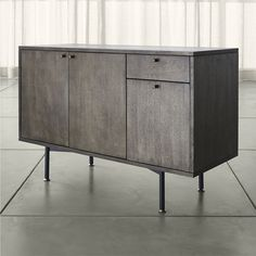 Amazon.com : Crate and Barrel Scholar Sideboard : Everything Else